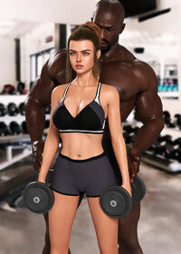 Juliette gym pic 2