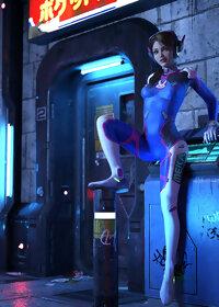 Evie D.Va Overwatch pic 1