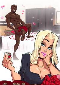 Interracial porn toon pic 1