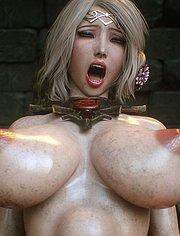 Forbidden pleasure depraved blonde, Elf slave 3 Two Elves